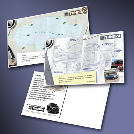 B2C Direct Mail Toyota