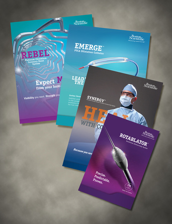 BSCI Product Brochures - Clinically detailed promotional items for distribution
