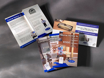 B2C Direct Mail Carrier - Sales and services promotional collateral
